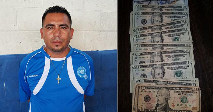 PNC arresta en la capital a sujeto que portaba dinero de dudosa procedencia
