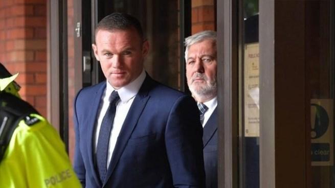 Wayne Rooney se declara culpable de conducir ebrio y es condenado