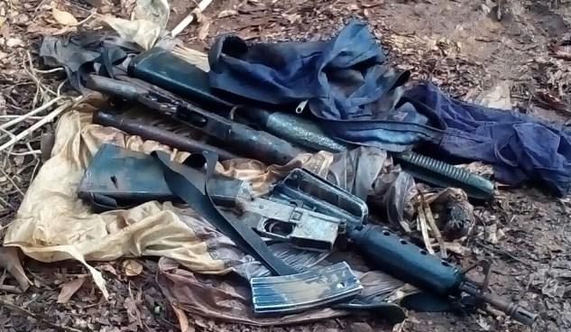 Campesinos de Comasagua encuentran armas cuando se disponían a sembrar