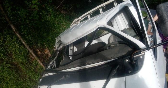 Un lesionado tras accidente de tránsito en Cabañas