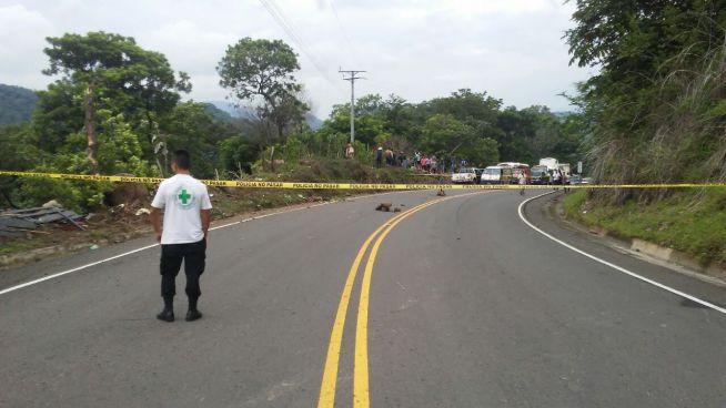 Accidente de tránsito deja a 3 muertos y un lesionado en carreta longitudinal del Norte