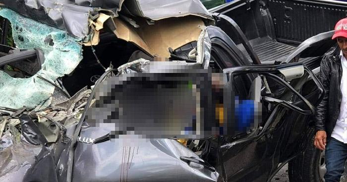 Dos muertos y 8 lesionados tras aparatoso accidente en carretera a El Pital