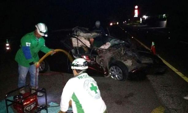 Dos muertos y dos lesionados tras accidentes de tránsito en diferentes puntos del país