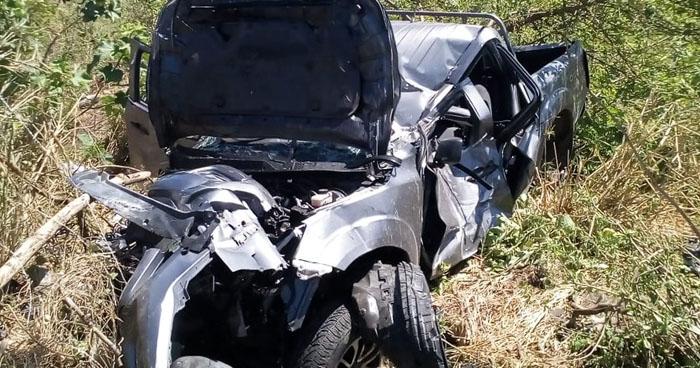 Un lesionado tras aparatoso accidente de tránsito en carretera de Sonsonate