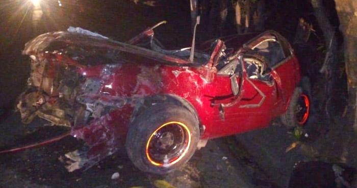 Agente de la PNC muere en accidente de tránsito en San Miguel