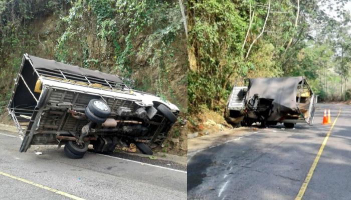 Accidente deja 23 lesionados en Tacuba, Ahuachapan; las personas se dirigían hacia un evento religioso