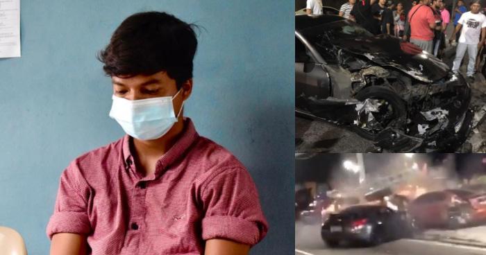 $800 de fianza pagará joven que provoco accidente en carreras clandestinas del Paso de Jaguar