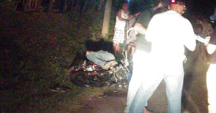 Motociclista muere tras accidentarse sobre carretera Panamericana en La Unión