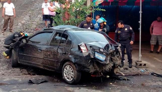 Accidente de tránsito en San Vicente deja dos personas lesionadas y un fallecido