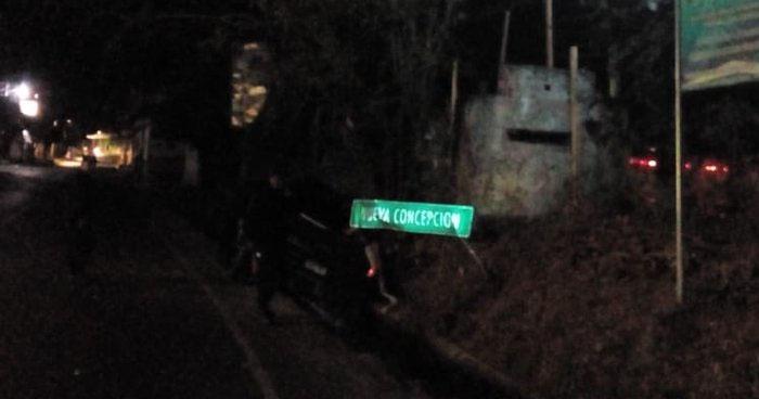Accidente por distracción del conductor cobró la vida de una persona en Chalatenango