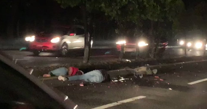 Hombre y mujer fallecidos tras accidente de motocicleta en carretera Comalapa