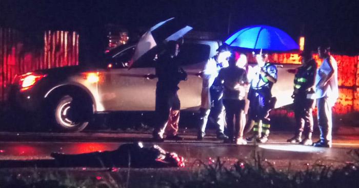 Dos personas, agentes de seguridad, murieron tras accidentarse en carretera Comalapa