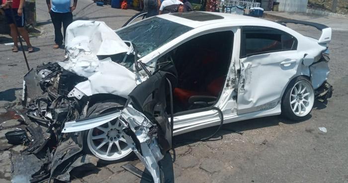 Conductor muere tras fuerte choque en carretera Ruta Militar, en La Unión