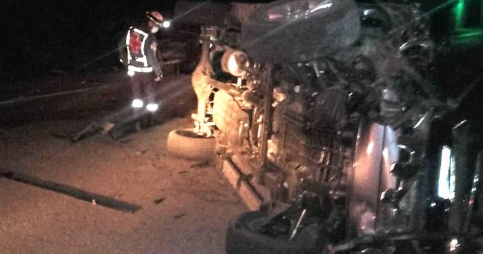 Conductor ebrio provoca accidente en carretera al Puerto de La Libertad