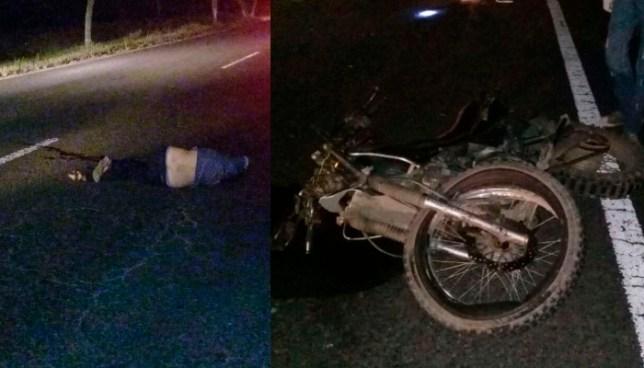 Un fallecido y un lesionado en accidente de transito en la carretera panamericana