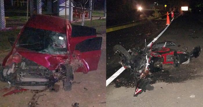 Dos fallecidos y dos lesionados tras accidentes, uno provocado por un conductor ebrio