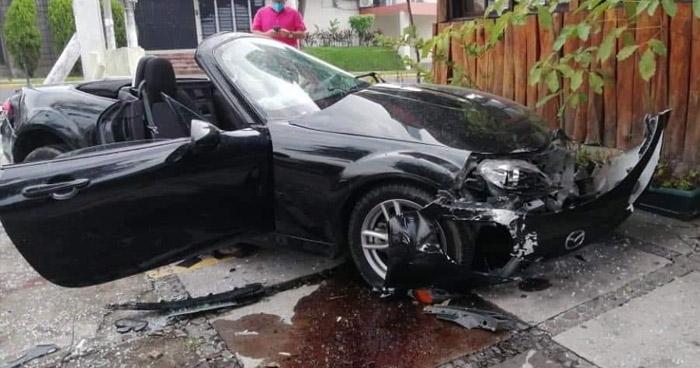 Fiscalía investigará accidente ocurrido en colonia Escalón en el que se vio involucrado un diputado