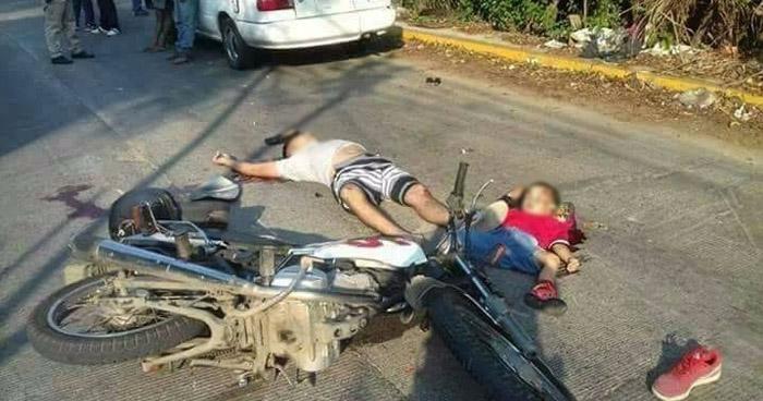 Reportan Falso accidente de tránsito que ocurrió en Cojutepeque, en el cual murió un niño junto a su padre