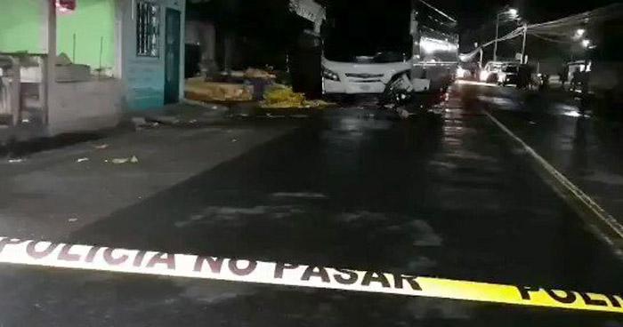 Homicidio en La Cima 2 de Ilopango