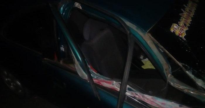 Conductor con 201° de alcohol provoca accidente y deja 8 personas lesionada