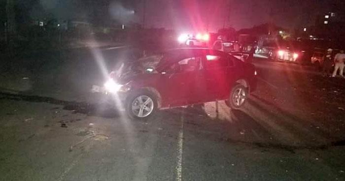 Un muerto y 5 lesionados deja aparatoso accidente de tránsito en Acajutla