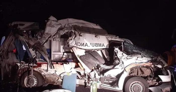 Una doctora, enfermera y un paciente COVID mueren en fatal accidente en Moncagua