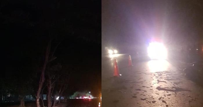 Motociclista pierde la vida tras impactarse contra un árbol en San Vicente