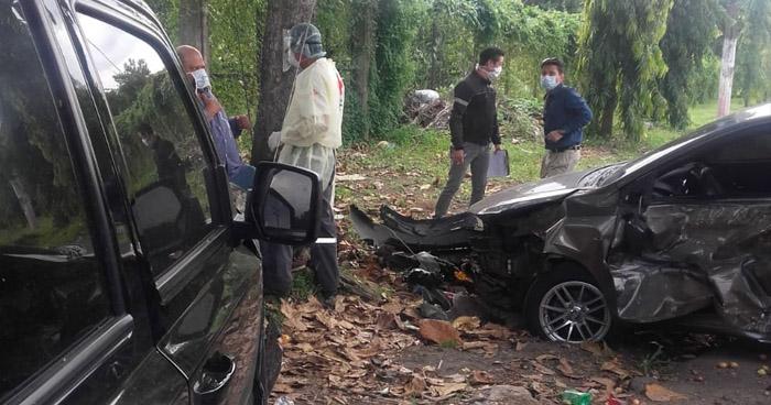 Varios lesionados tras accidentes de tránsito registrados en diferentes puntos del país