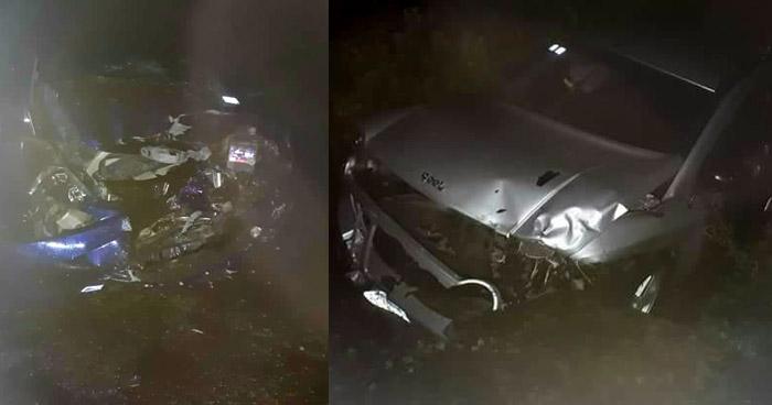 Un muerto y un lesionado tras accidente de tránsito en San Juan Opico. Tres accidentes más solo dejaron lesionados