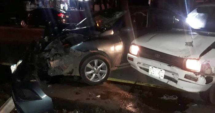 Un muerto y un lesionado dejó choque por desvío a San Juan Opico