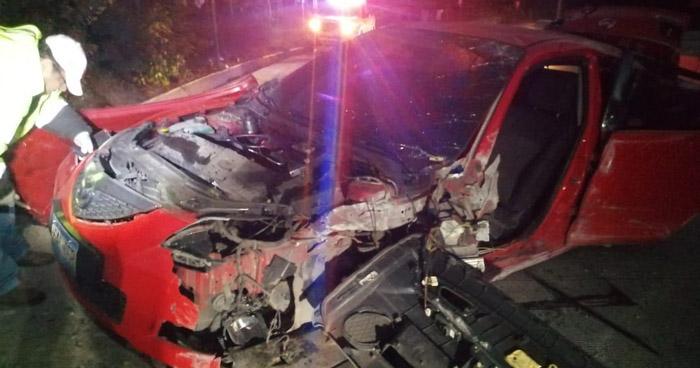 Recién nacido entre los lesionados tras accidente en carretera al Puerto de La Libertad