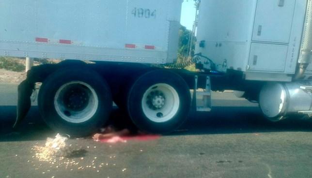 Vendedor de semillas muere tras ser atropellado por un camión en Apastepeque, San Vicente