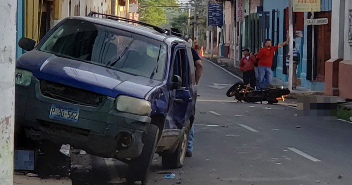 Motociclista murió en accidente de tránsito registrado en San Miguel