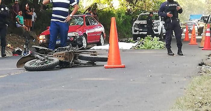 Niño de 11 años muere en accidente de motocicleta en San Miguel