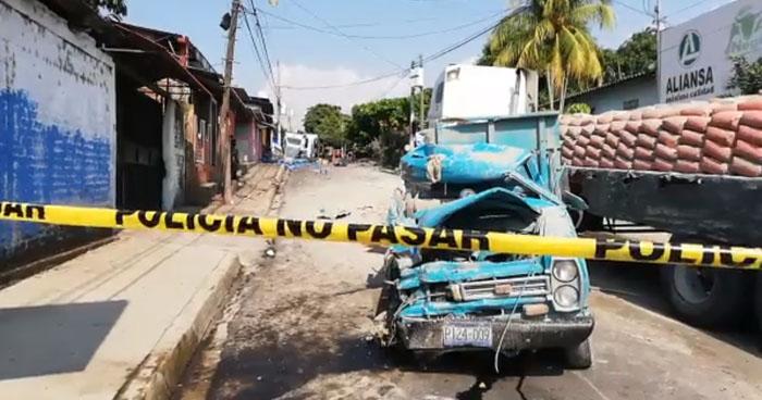 Un muerto y varios lesionados tras múltiple choque en calle de San Jorge, San Miguel