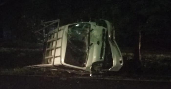 Mujer pierde la vida en aparatoso accidente de tránsito en San Pedro Perulapán