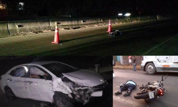 Tres accidentes de tránsito en diferentes puntos del país dejan 2 fallecidos y daños materiales