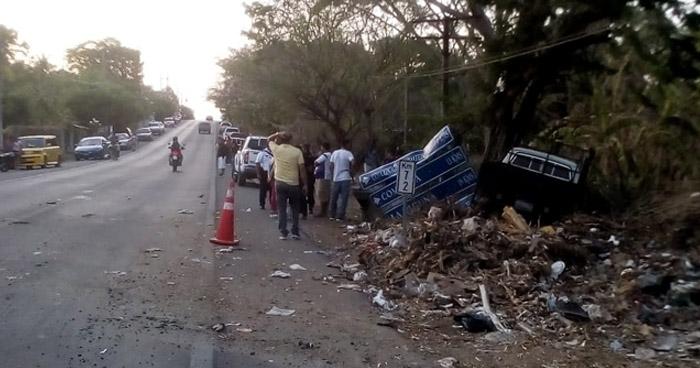 Conductor ebrio atropella y mata a una persona en Chalatenango
