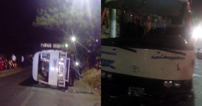 Motorista de la Ruta 38F que volcó y dejó a sus pasajeros lesionados no tenía licencia