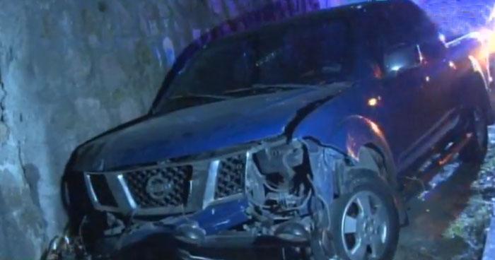 Accidente por excesiva velocidad dejó un lesionado en carretera Troncal del Norte