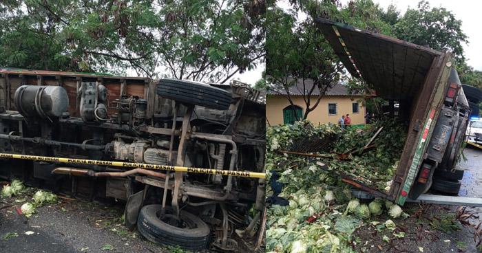 Dos fallecidos en grave accidente registrado en la carretera Troncal del Norte
