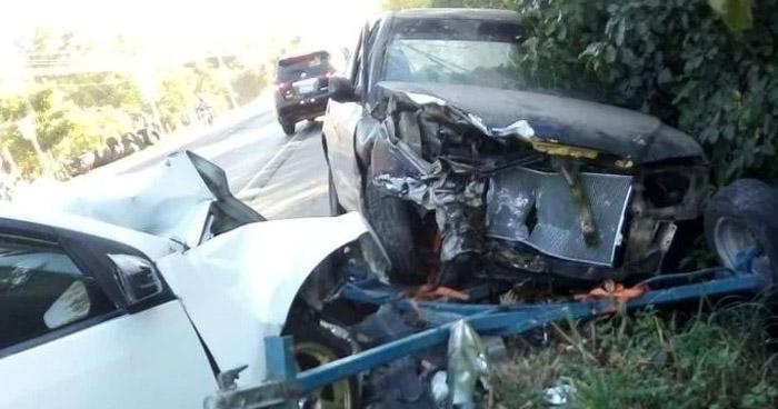 Niña de 3 años muere en accidente sobre carretera Litoral, en Usulután