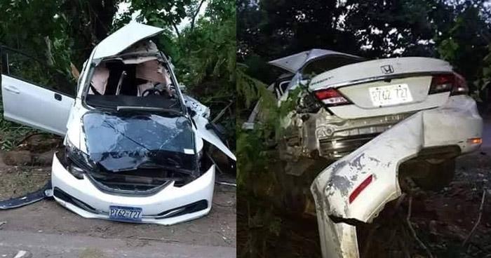 Un muerto y 5 lesionados tras grave accidente de tránsito en Usulután