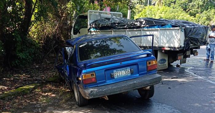 Un fallecido y otro lesionado tras accidente en carretera a San Vicente