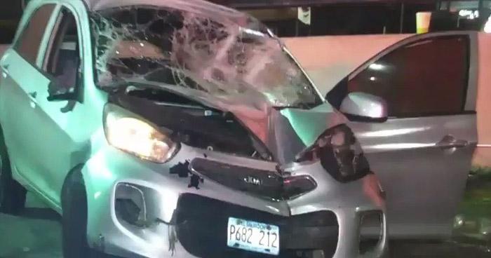 Conductores ebrios provocan accidentes en diferentes puntos del país