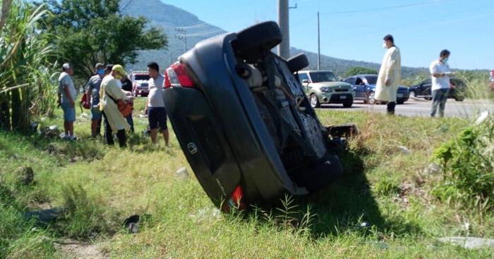 Varios lesionados tras accidentes de tránsito registrados esta tarde