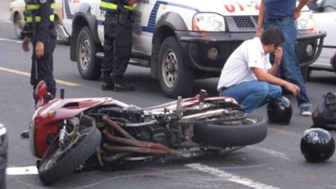 Más de 1,500 accidentes en motocicleta se han registrado en lo que va del 2017