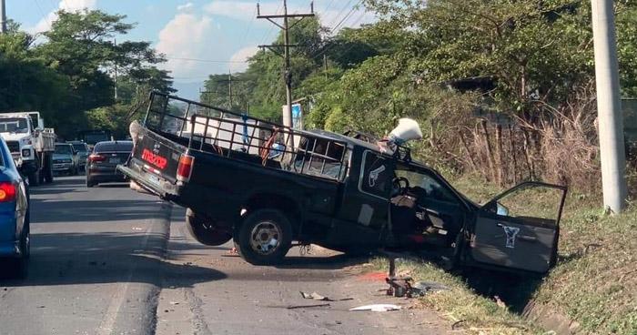 Varios lesionados tras accidentes registrados en diferentes puntos del país