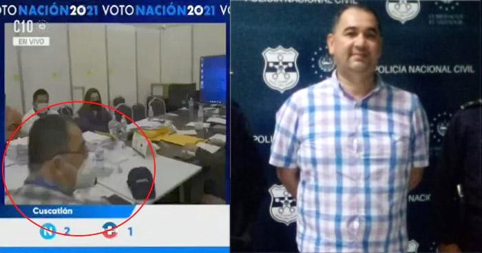 Capturan a miembro de ARENA que acosó a periodista de Canal 10