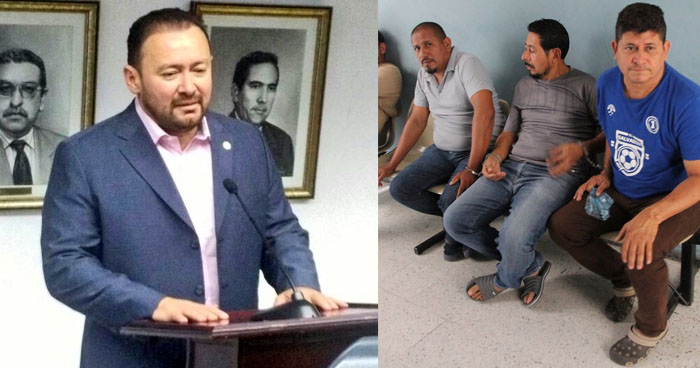 Prisión preventiva para acusados de amenazar a diputado de GANA